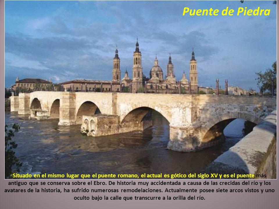 La Catedral-Basílica de Nuestra Señora de El Pilar, constituye el templo barroco más grande de España. En su interior destacan los frescos de Goya y F