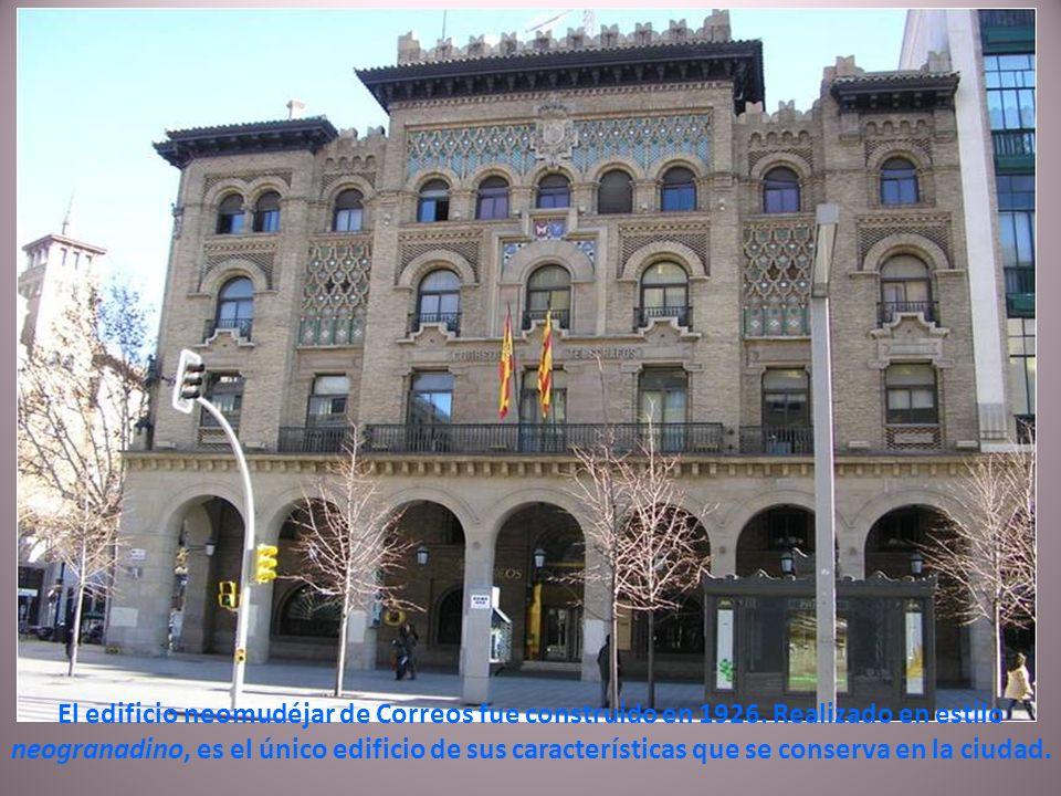 Diputación Provincial muestra una fachada neoclásica realizada en 1952.