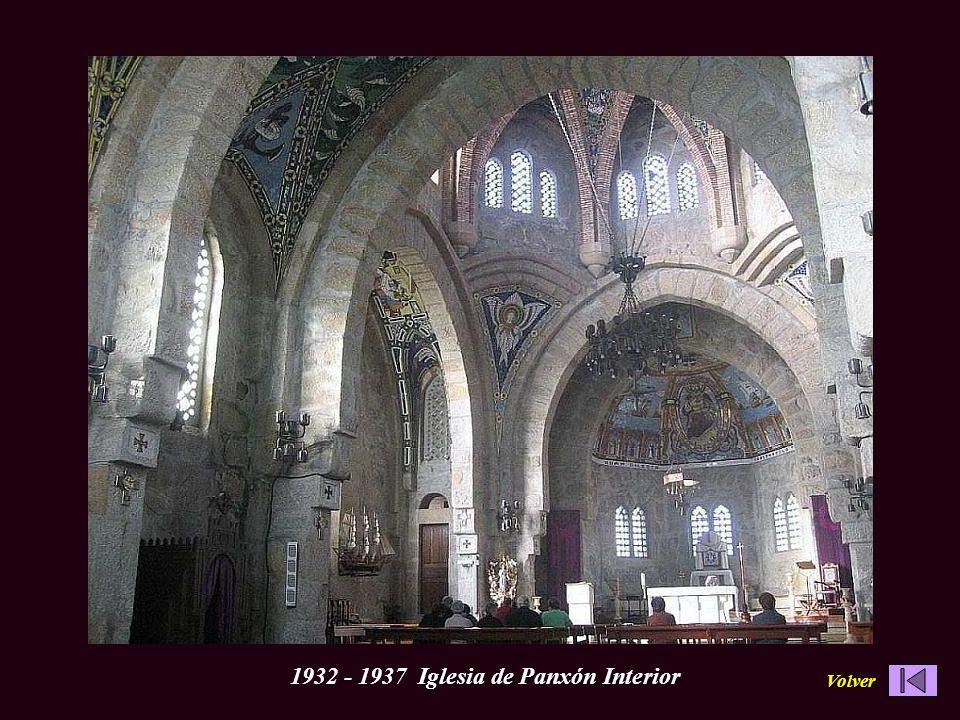 Iglesia de Panxón Interior 1932 - 1937 Iglesia de Panxón Interior Volver