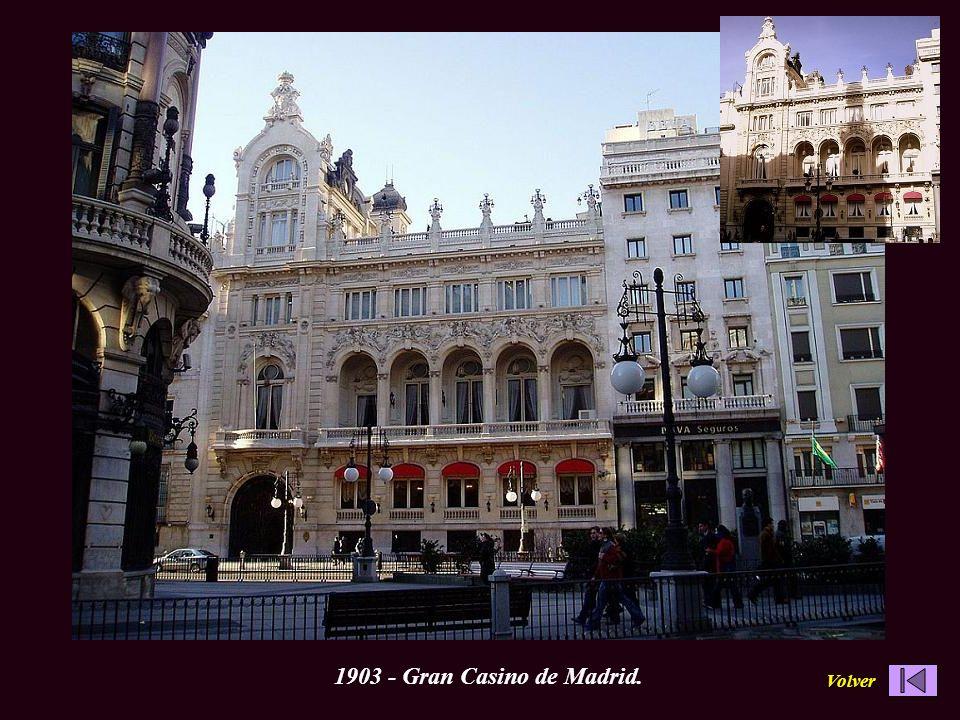 1903 - Gran Casino de Madrid. Volver