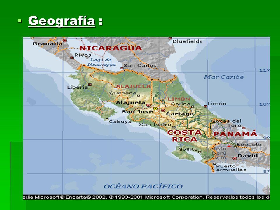 Geografía : Geografía :