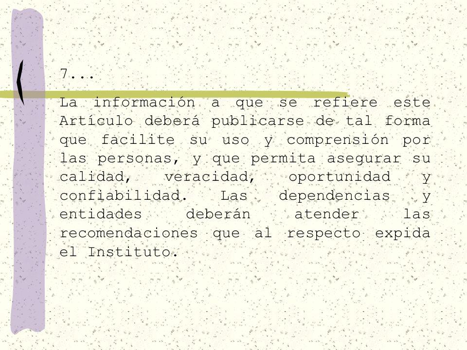 73... XIV. El marco normativo aplicable a cada sujeto obligado; XV.