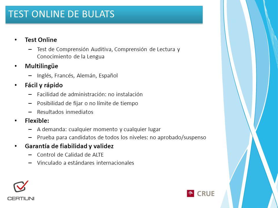 Test Online – Test de Comprensión Auditiva, Comprensión de Lectura y Conocimiento de la Lengua Multilingüe – Inglés, Francés, Alemán, Español Fácil y