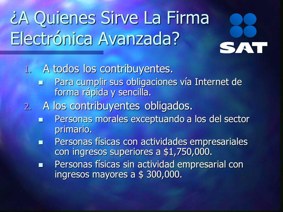 Beneficios De La Firma Electrónica Avanzada Elaborar declaraciones de forma sencilla y segura.