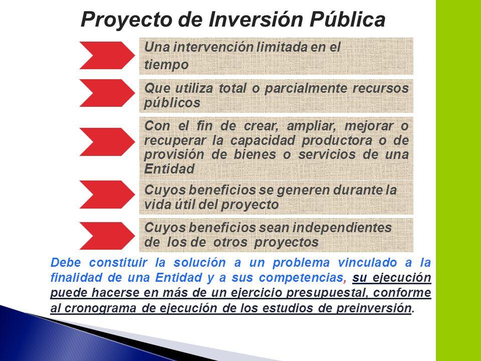 12 Una intervención limitada en el tiempo Que utiliza total o parcialmente recursos públicos Con el fin de crear, ampliar, mejorar o recuperar la capa