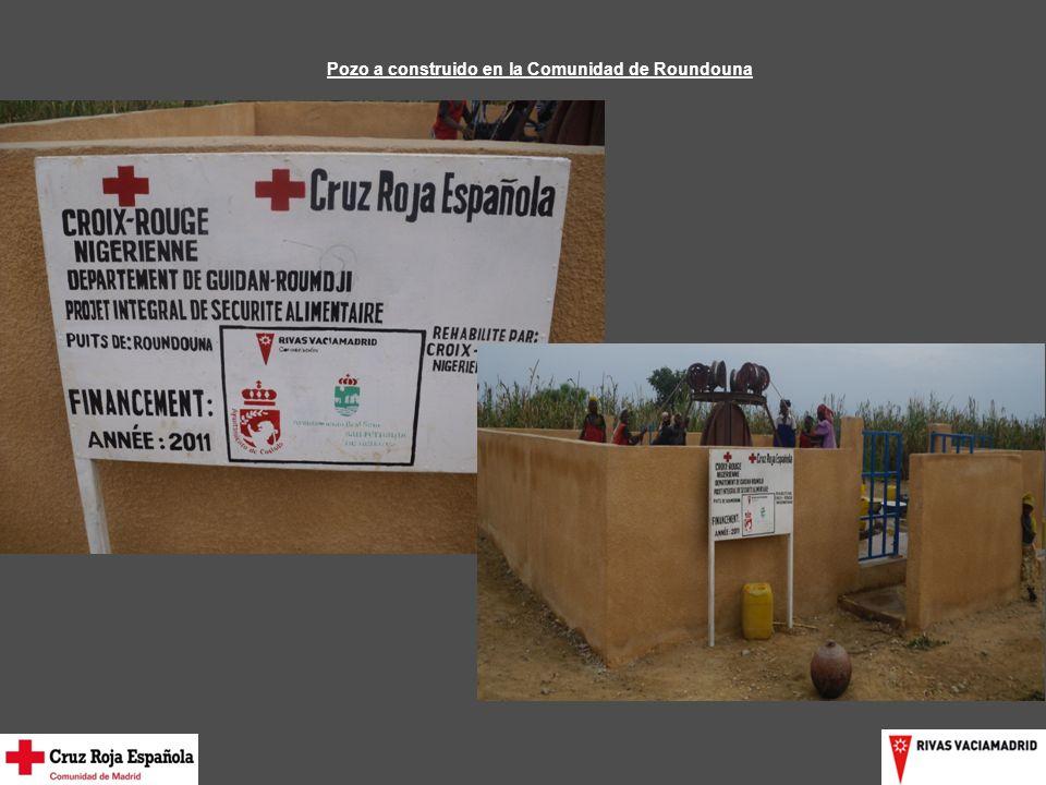 Pozo a construido en la Comunidad de Roundouna