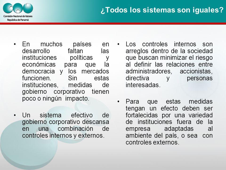 ¿Todos los sistemas son iguales? En muchos países en desarrollo faltan las instituciones políticas y económicas para que la democracia y los mercados