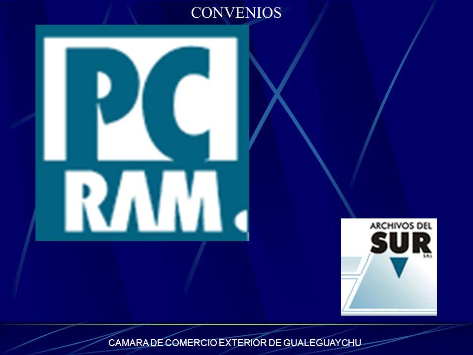CAMARA DE COMERCIO EXTERIOR DE GUALEGUAYCHU CONVENIOS