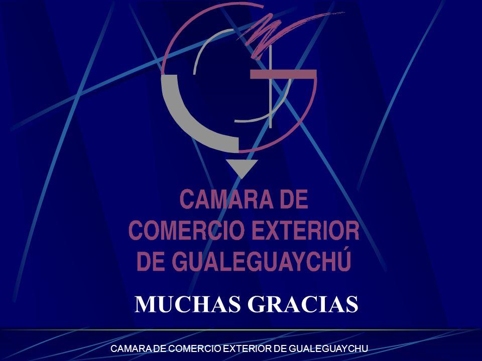 CAMARA DE COMERCIO EXTERIOR DE GUALEGUAYCHU MUCHAS GRACIAS