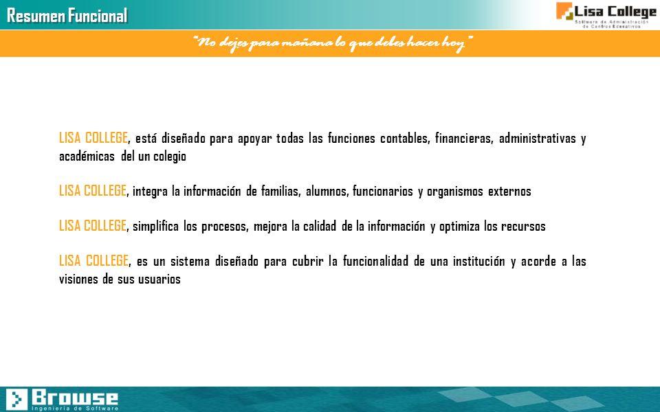 Web Facilita la actualización inmediata de información del alumnado, optimiza su calidad y reduce trabajo a secretaría.