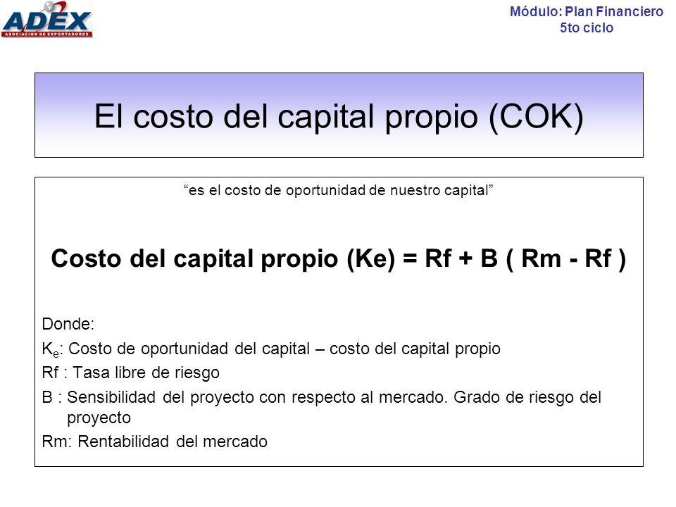 La tasa libre de riesgo (R f ) La tasa libre de riesgo, es la rentabilidad mínima que se puede obtener con 0% de riesgo.