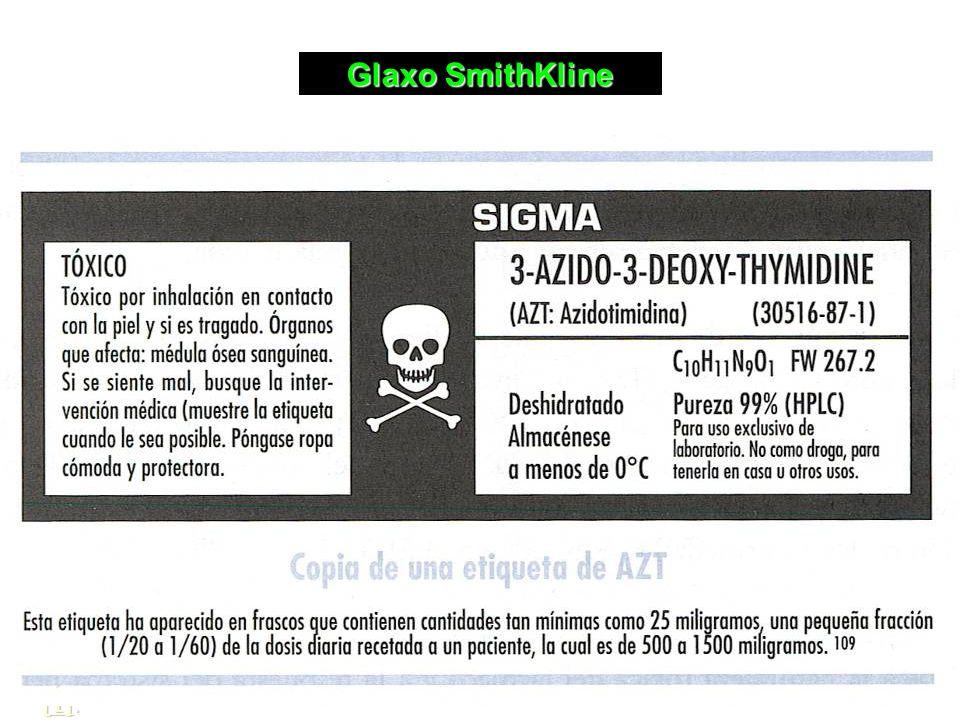Glaxo SmithKline [1][1]. [1]