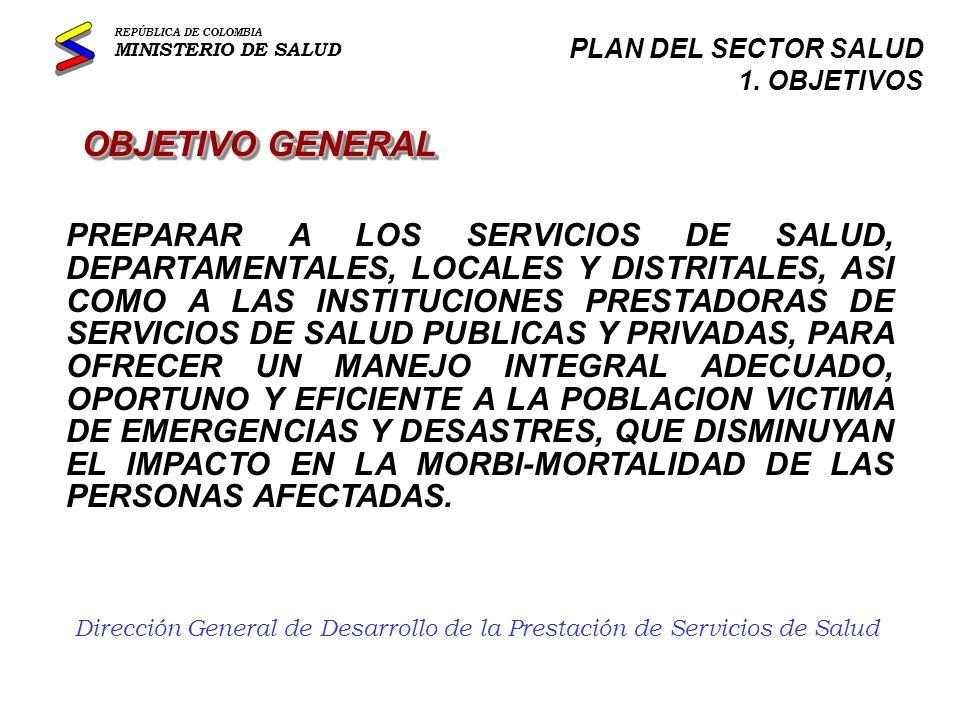 Dirección General de Desarrollo de la Prestación de Servicios de Salud...