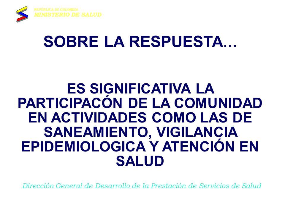 Ministerio de Salud MUCHAS GRACIAS GRUPO DE ATENCION DE EMERGENCIAS Y DESASTRES