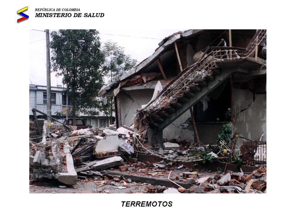 DESPLAZAMIENTOS REPÚBLICA DE COLOMBIA MINISTERIO DE SALUD