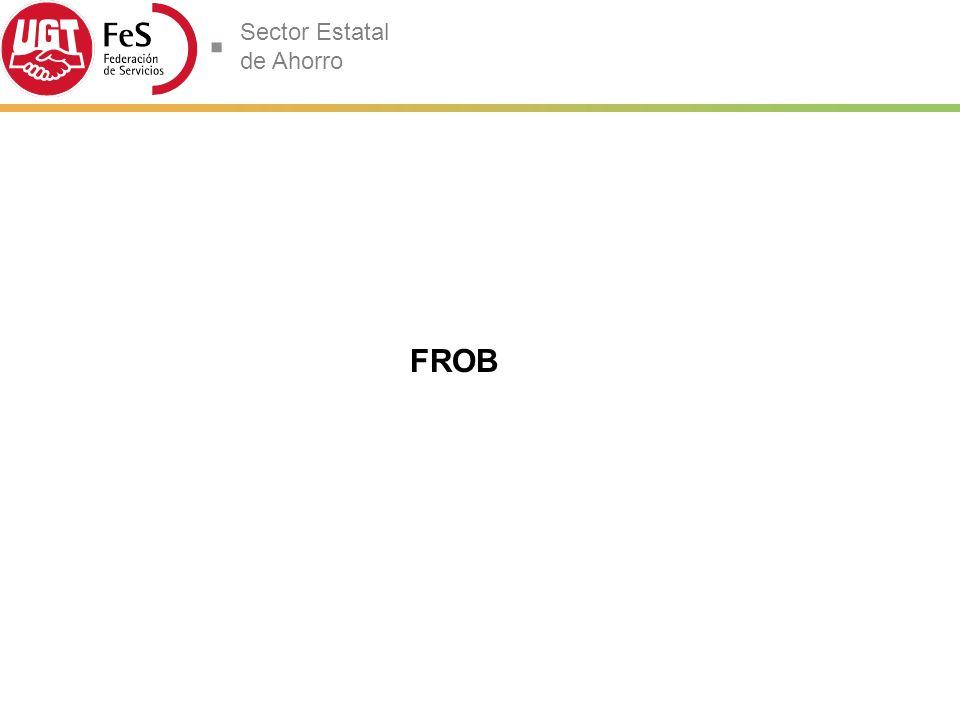 Sector Estatal de Ahorro FROB