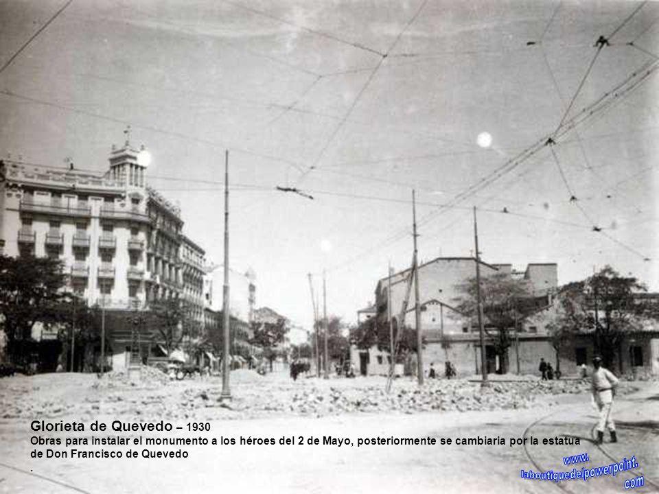 Plaza de Canalejas – 1914