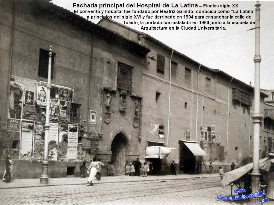 Antigua plaza de Toros – 1875 Fue construida en 1874 para sustituir a la que había junto a la Puerta de Alcalá, la foto nos muestra la plaza en medio