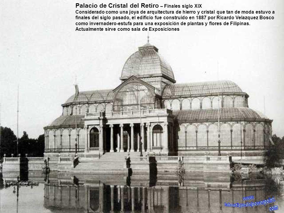 Fachada principal del Hospital de La Latina – Finales siglo XX El convento y hospital fue fundado por Beatriz Galindo, conocida como La Latina a princ