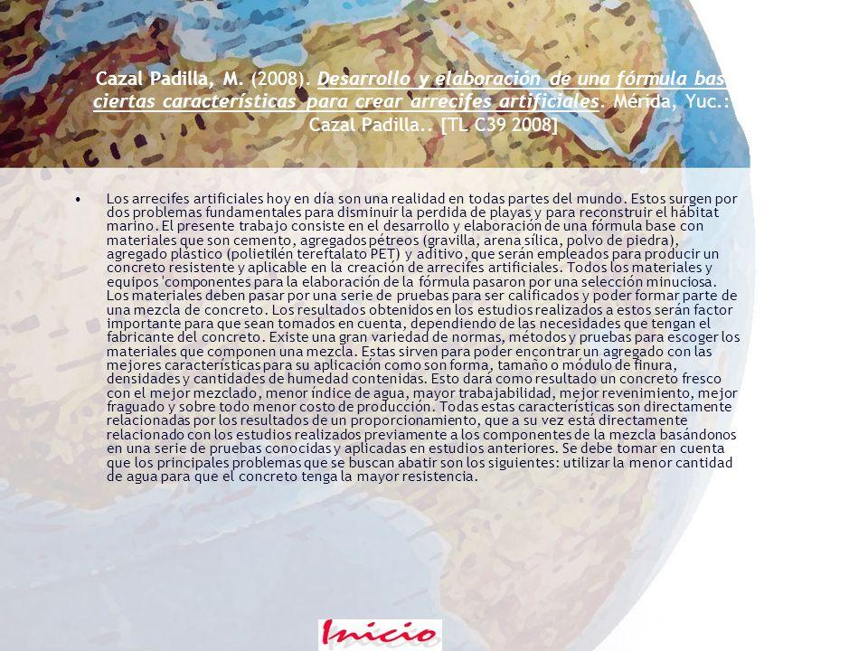 Bacab Pérez, I. (2008). Complejos orgánicos para reducir la virosis en genotipos de chile habanero. Conkal, Yuc.: I.M. Bacab Pérez.. [TL B323 2008] En