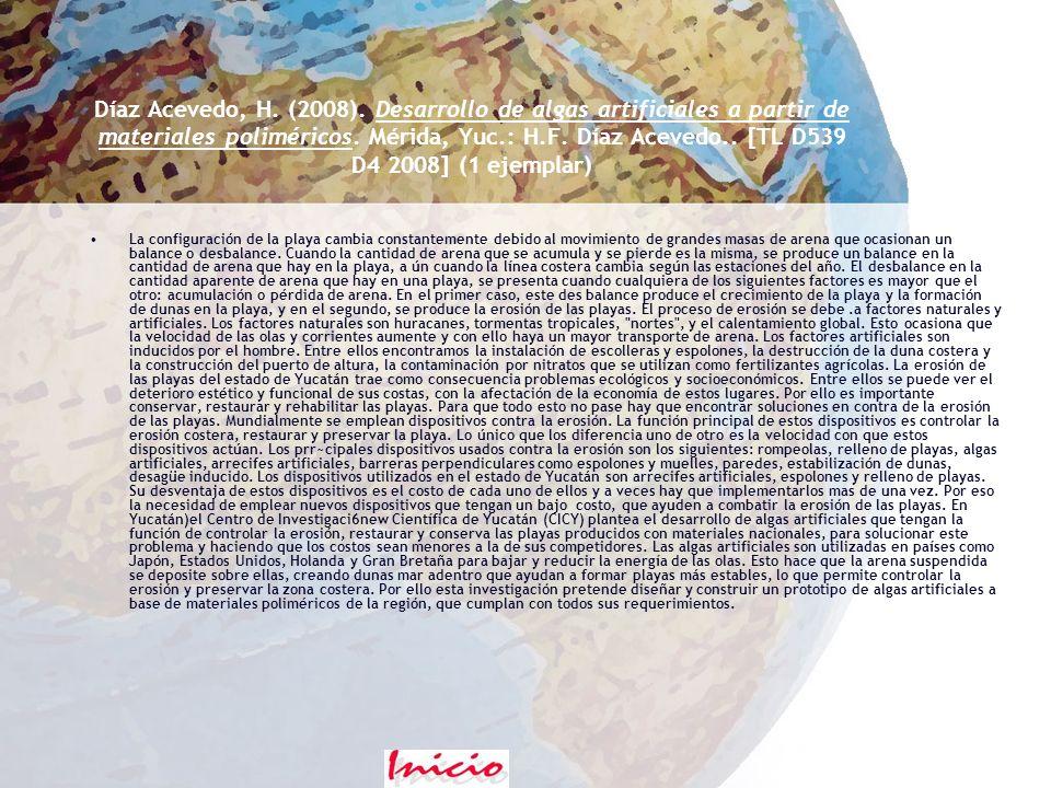 Contreras Pool, P. (2008). Uso de partículas de polipirrol de tamaño controlado como soporte de catalizadores de Pt.. Mérida, Yuc.: P.Y. Contreras Poo