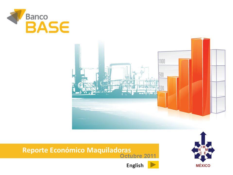 Octubre 2011 Reporte Económico Maquiladoras English