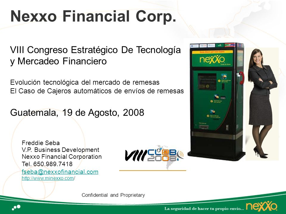 Nexxo Financial Corp.