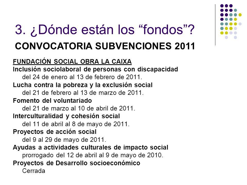 FUNDACIÓN SOCIAL OBRA LA CAIXA Inclusión sociolaboral de personas con discapacidad del 24 de enero al 13 de febrero de 2011. Lucha contra la pobreza y