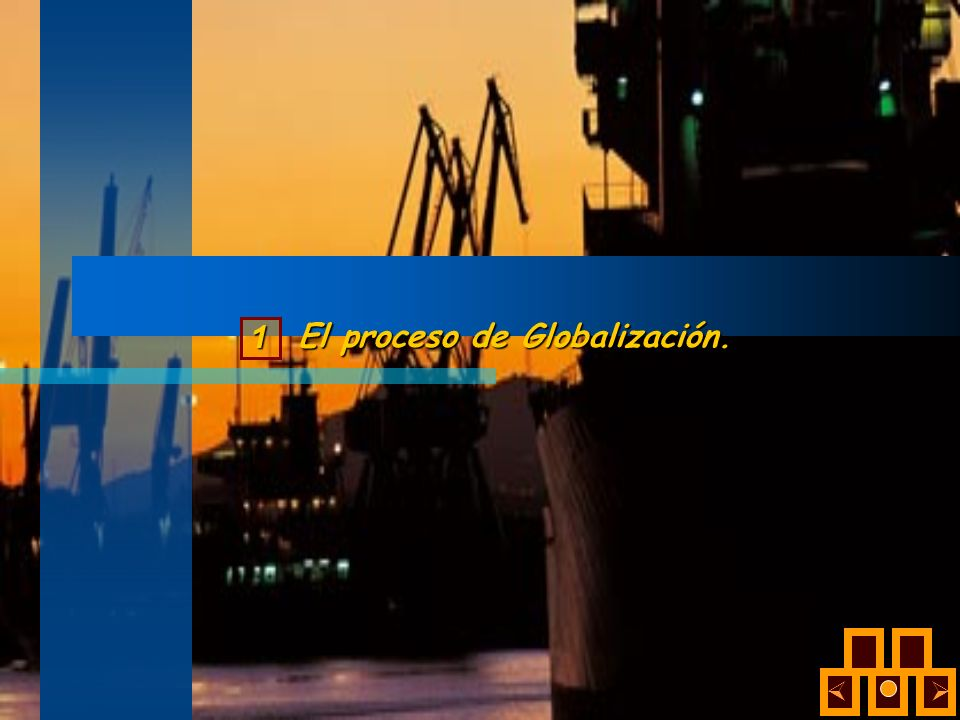 El proceso de Globalización. 1