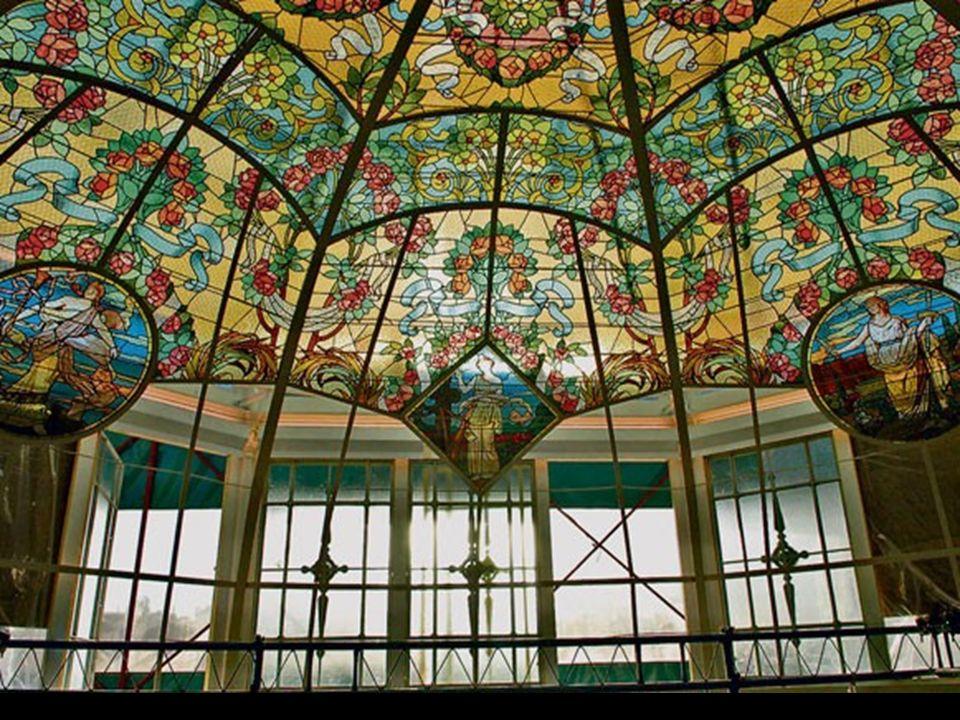 Restauración de la cúpula del foyer Restauración de la cúpula del foyer