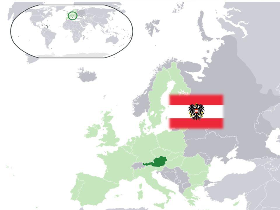 República de AUSTRIA Republik Österreich Idioma: Alemán.