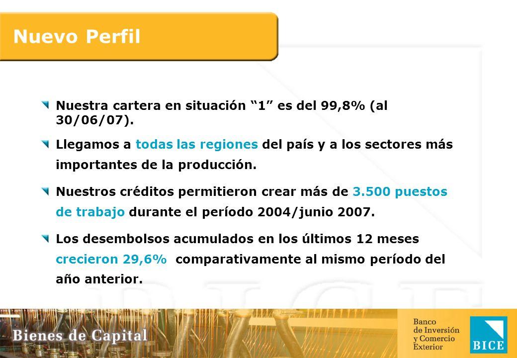 El BICE cuenta con una de las mejores calificaciones crediticias otorgadas por FitchRatings a una Entidad Financiera Argentina Corto Plazo (A1) Largo Plazo (AA-) Calificación crediticia