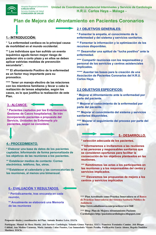 6.- EVALUACIÓN Y RESULTADOS.