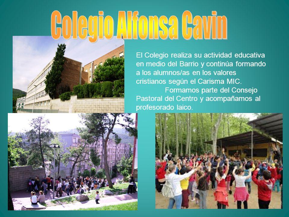 El Colegio realiza su actividad educativa en medio del Barrio y continúa formando a los alumnos/as en los valores cristianos según el Carisma MIC. For