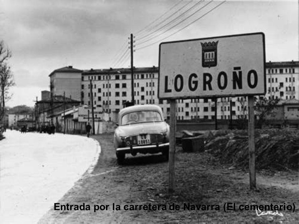 LOGROÑO Antiguo Fotografías en Blanco y Negro