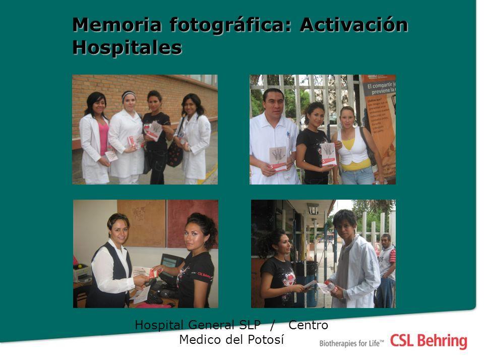 Memoria fotográfica: Activación Hospitales Hospital General SLP / Centro Medico del Potosí