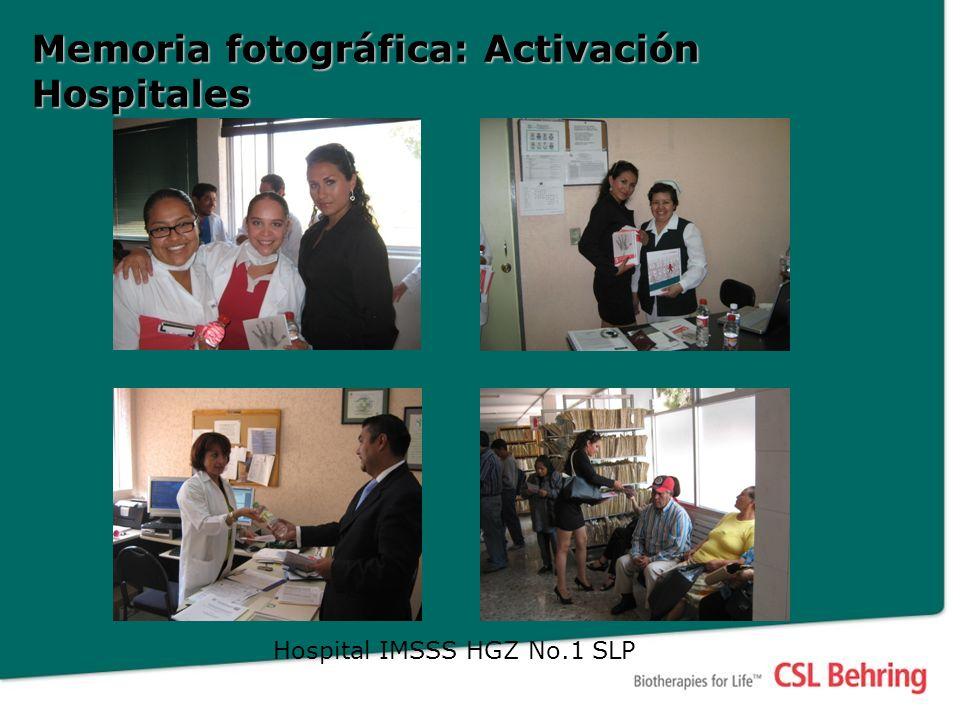 Memoria fotográfica: Activación Hospitales Hospital IMSSS HGZ No.1 SLP