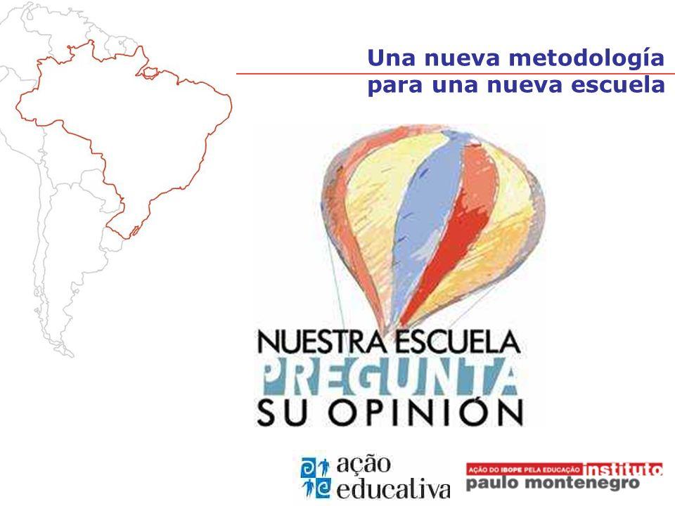 Organización sin fines de lucro creada por IBOPE Brasil en 2000, para desarrollar y ejecutar proyectos en el área de Educación Instituto Paulo Montenegro