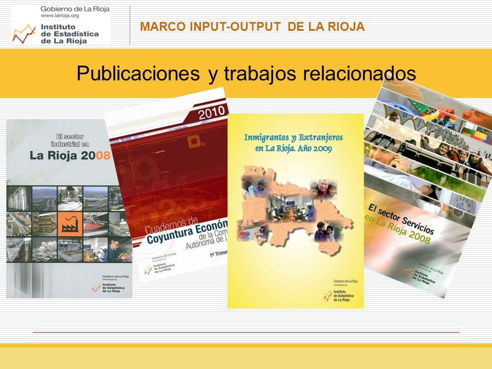MARCO INPUT-OUTPUT DE LA RIOJA Ejemplo de aplicación del modelo input-output Una empresa de material de transporte desea medir los efectos sobre la producción, VAB y empleo que tendrá la inversión prevista para la implantación de una nueva industria.