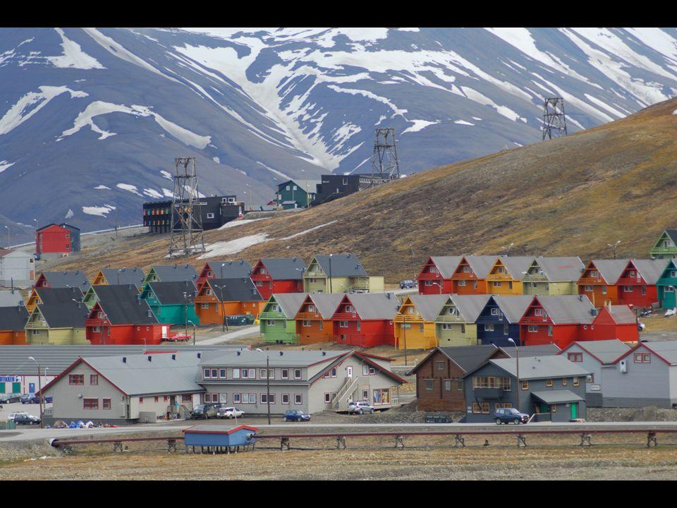 Salvadora. La isla de Noruega, donde está bóveda para combatir especialmente efectos apocalípticos del cambio climático.