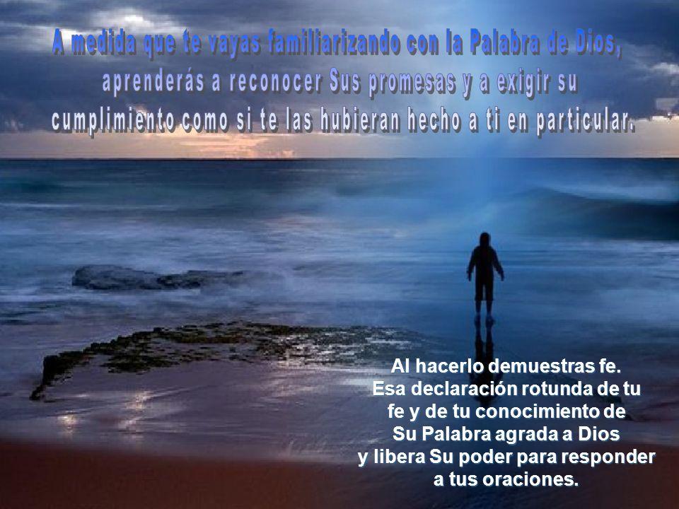 Están dirigidas a todo el que tenga fe en que Él las cumplirá; o sea, que son también para ti.