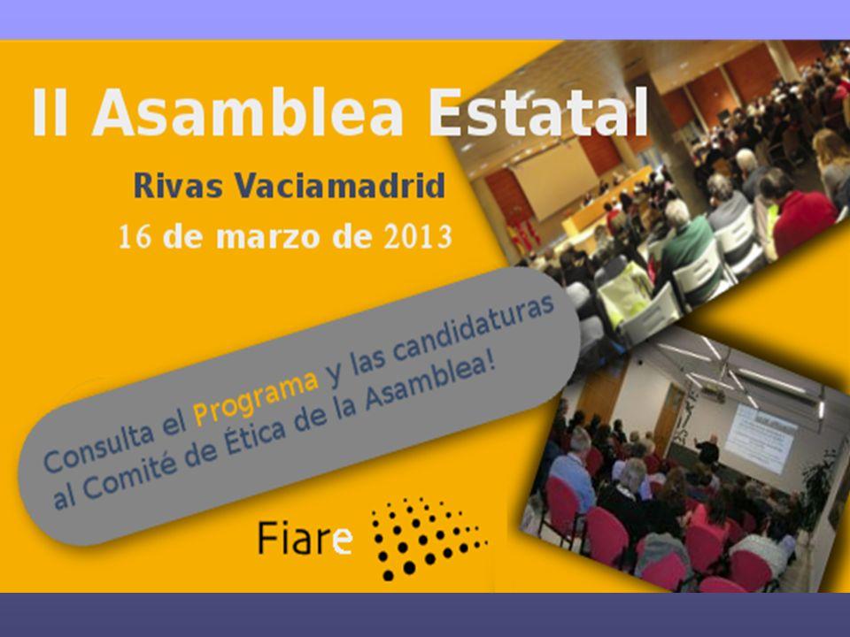 DECISIONES: Nombramiento de Peru Sasia como como candidato de la 5ª zona FIARE a la directiva de BpE.