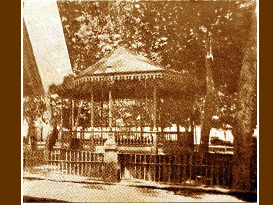 1890. El Kiosco de la música