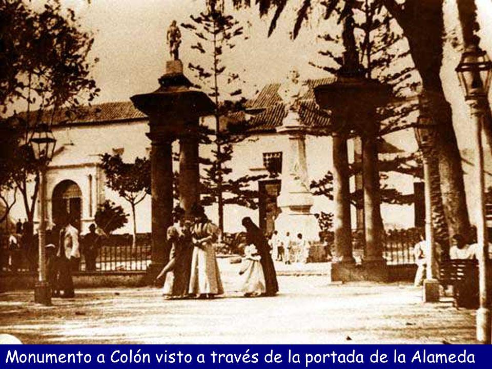 Inauguración del monumento a Colón, 1893