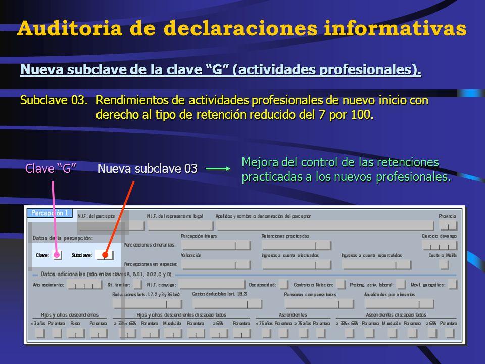 Clave M.Rendimientos del trabajo con derecho a la reducción Copa América 2007 a efectos de retenciones (art.º 13.2 del RD 2146/2004).
