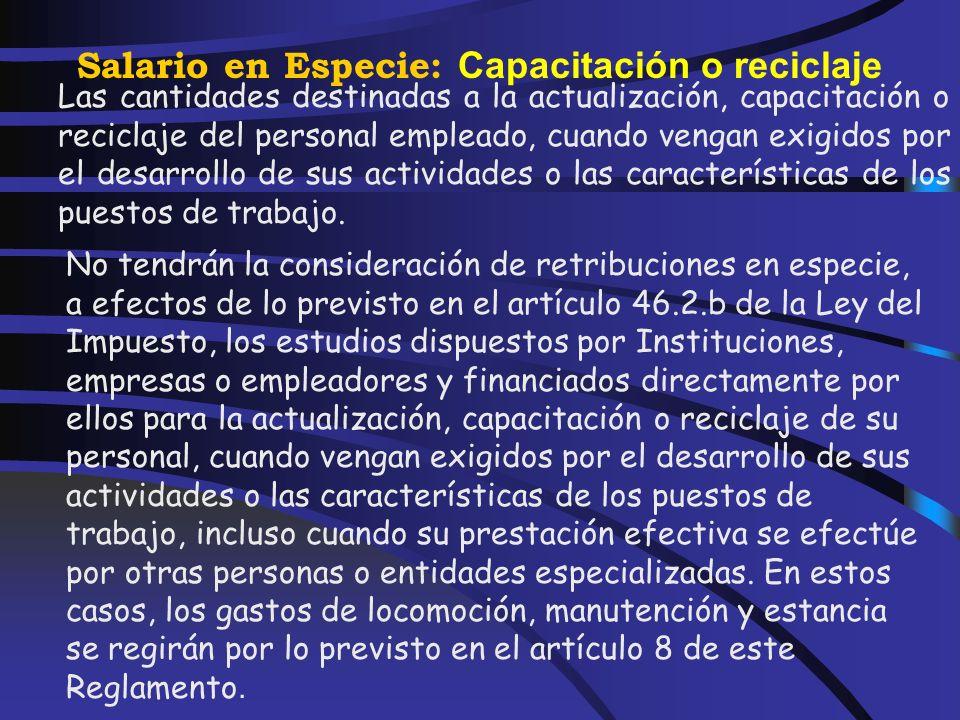 Salario en Especie: Acciones o participaciones El incumplimiento del plazo a que se refiere el número 3 anterior motivará la obligación de presentar u