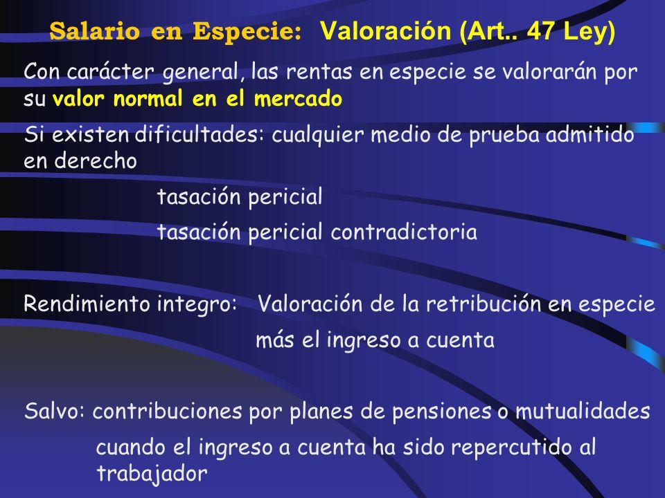 Salario en Especie: Préstamos antes 01-01-92 No tendrán la consideración de retribuciones en especie los préstamos con tipo de interés inferiores al l