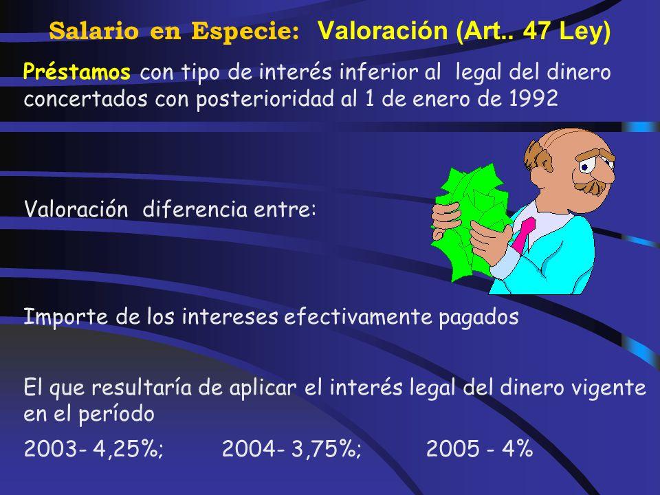 Salario en Especie: Valoración (Art.. 47 Ley) Caso de uso mixto del automóvil, atribución parcial a estos fines de empresa prorrateando en base al por