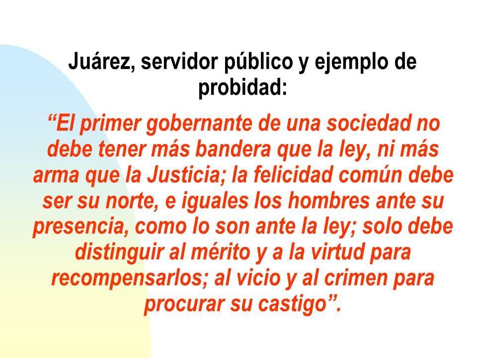 Con Juárez, con el siempre viviente indígena oaxaqueño universal, alumno, maestro y Rector del Instituto de Ciencias y Artes del Estado de Oaxaca, reiteramos que: Libre y para mi muy sagrado el derecho de pensar.