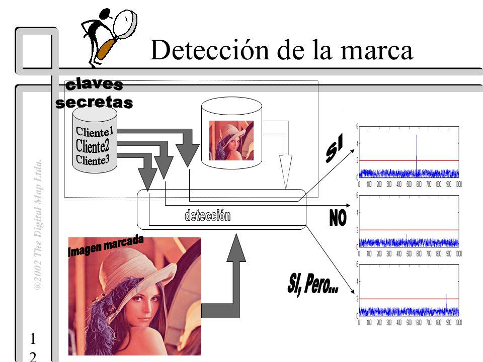 1212 ®2002 The Digital Map Ltda. Detección de la marca